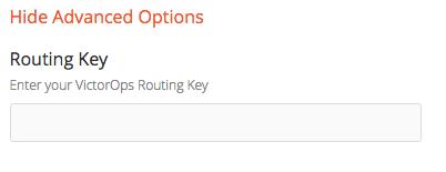 configur routing key