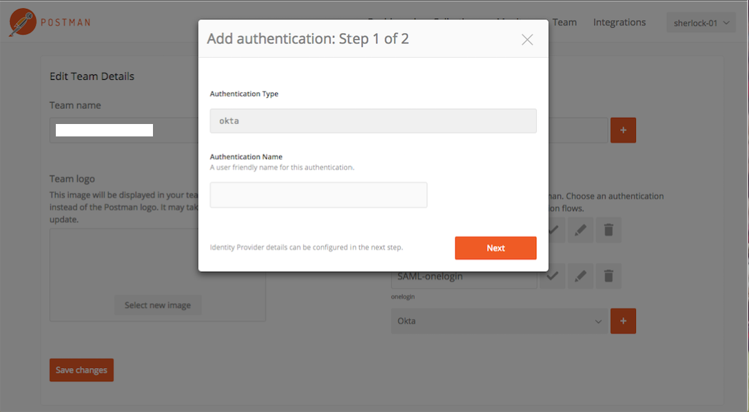 add authentication