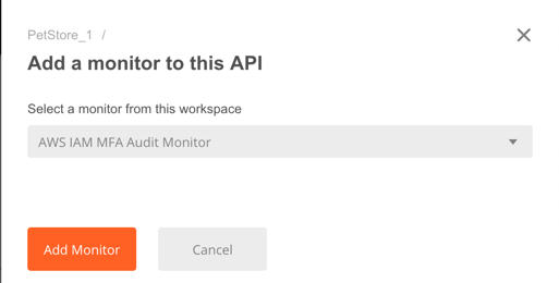 api add monitor