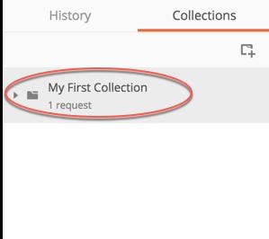 collection sidebar