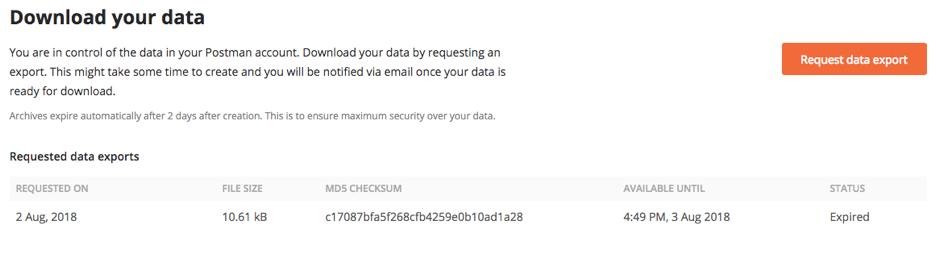 export data2