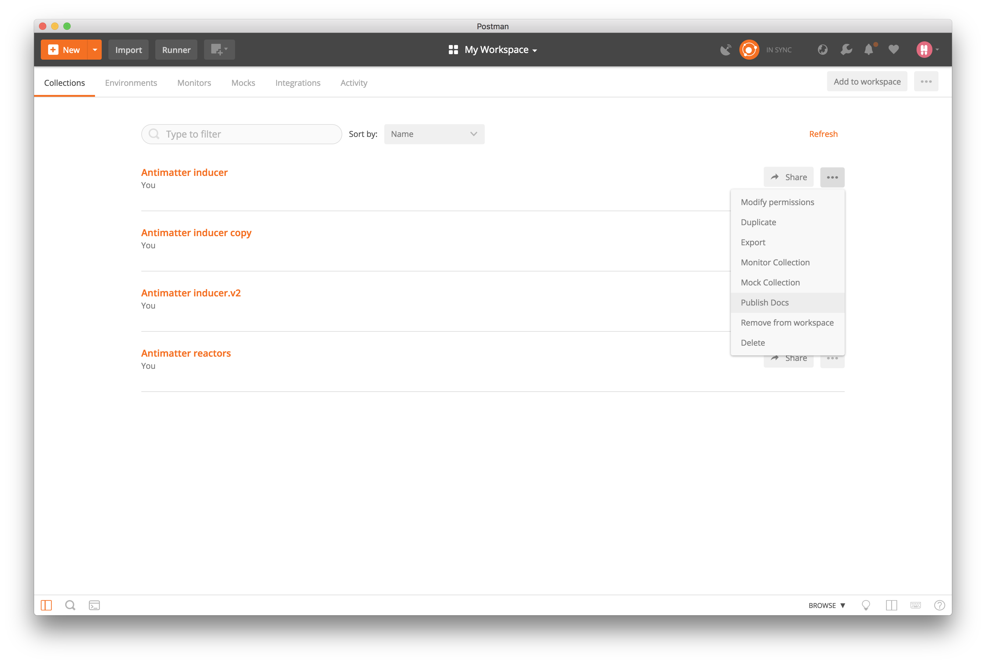 view docs from team library