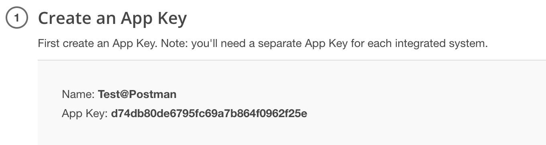 results app key