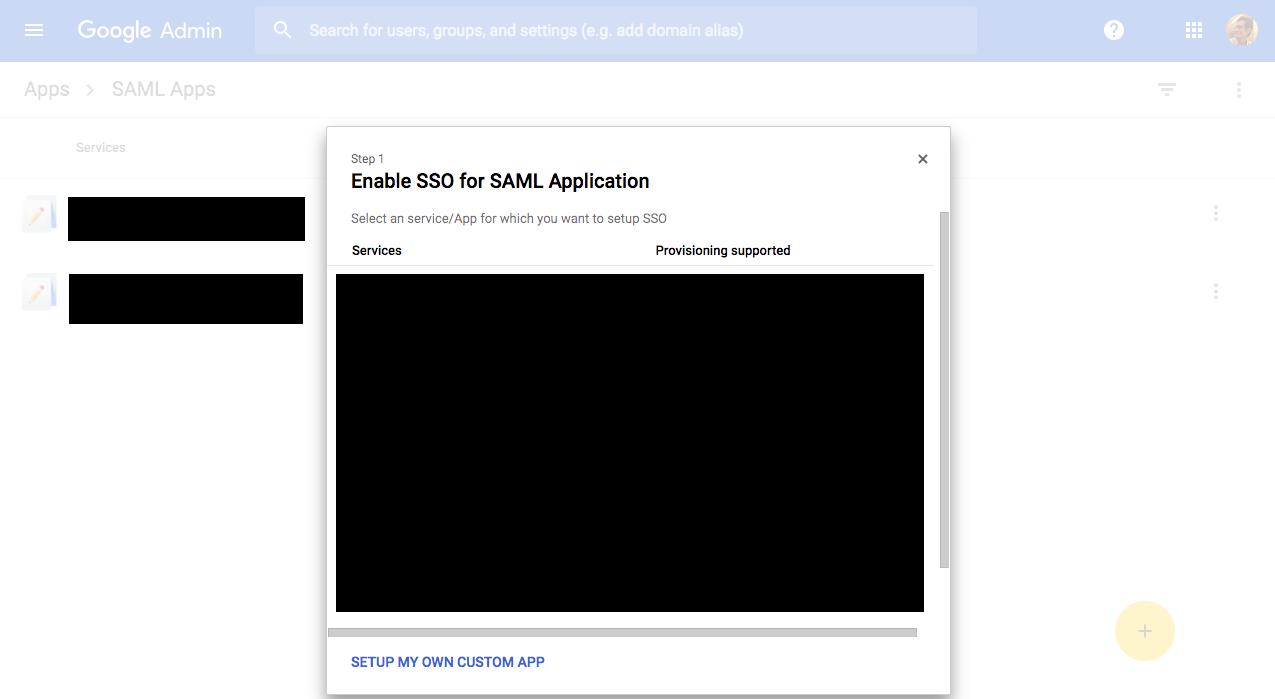 Setting up custom SAML in GSuite | Postman Learning Center