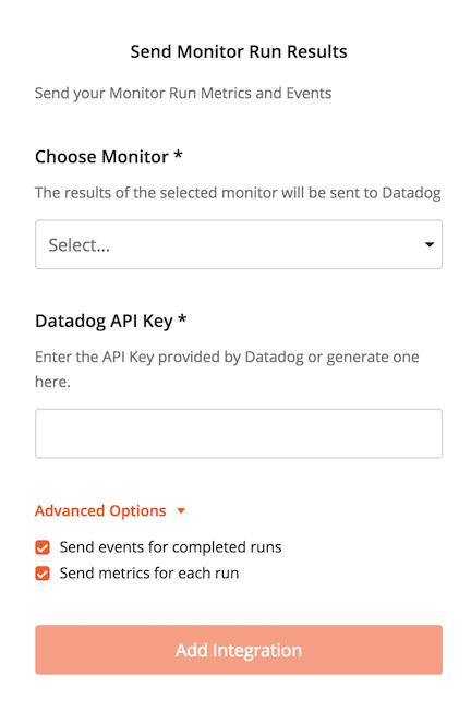 datadog integrations add