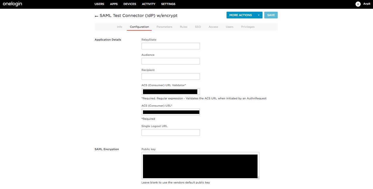 onelogin identity provider
