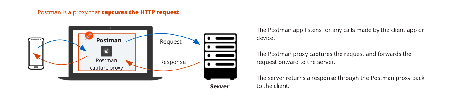 Capturing HTTP requests | Postman Learning Center