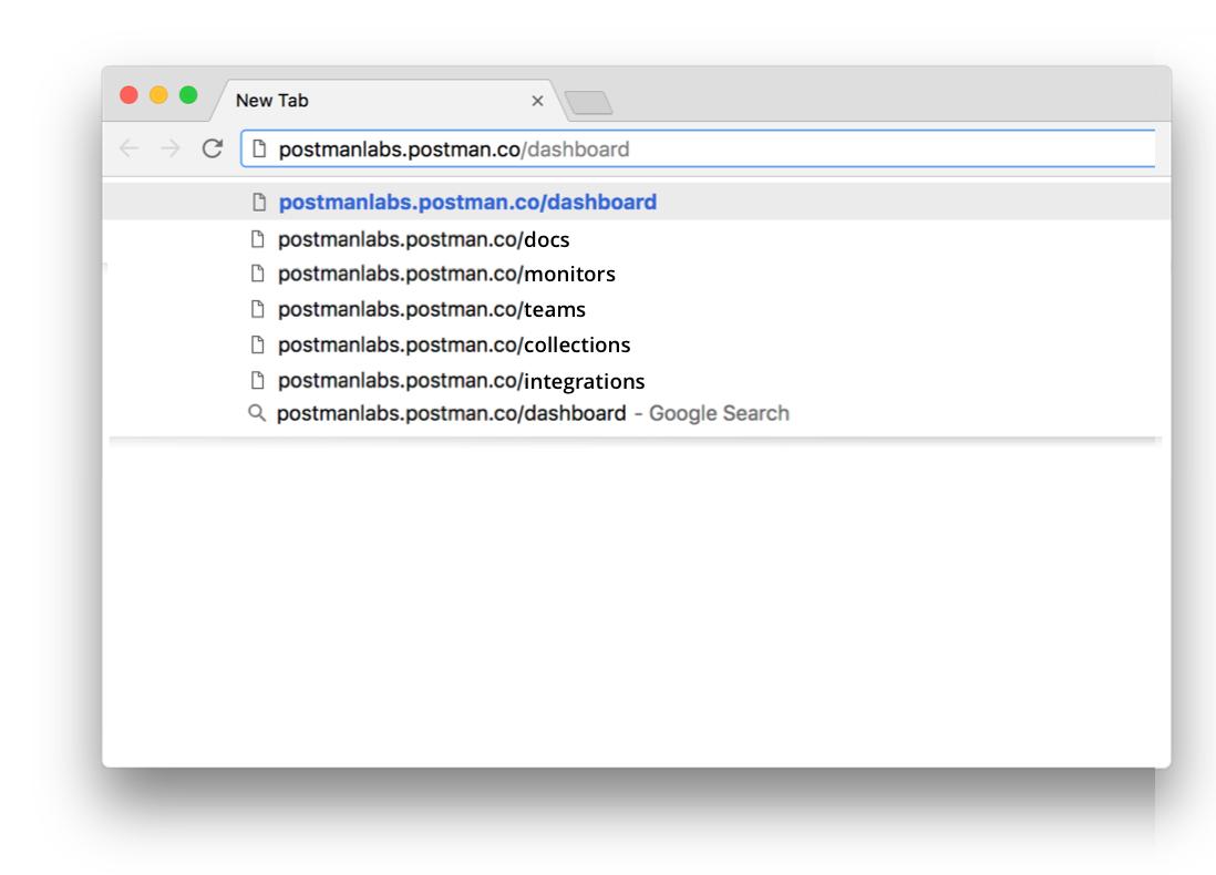 urls in browser