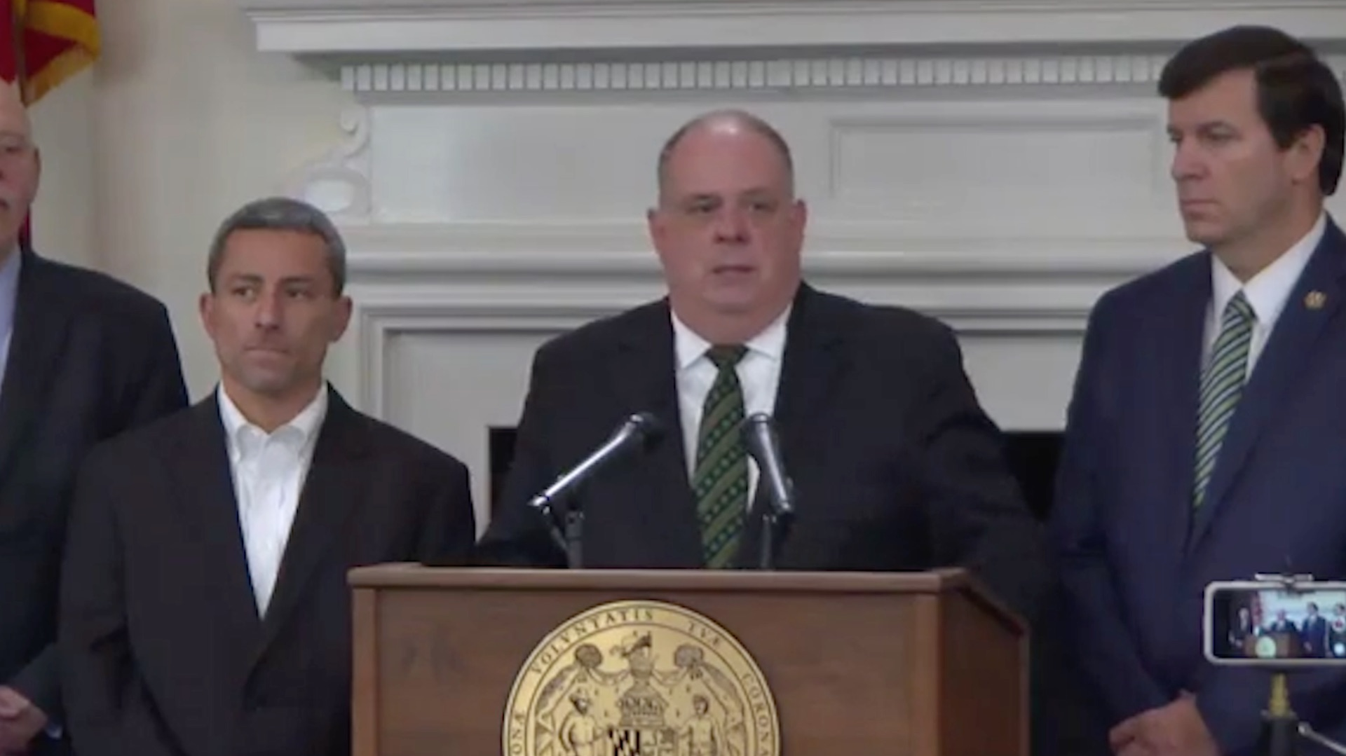 Hogan announces support for fracking ban in maryland the washington post