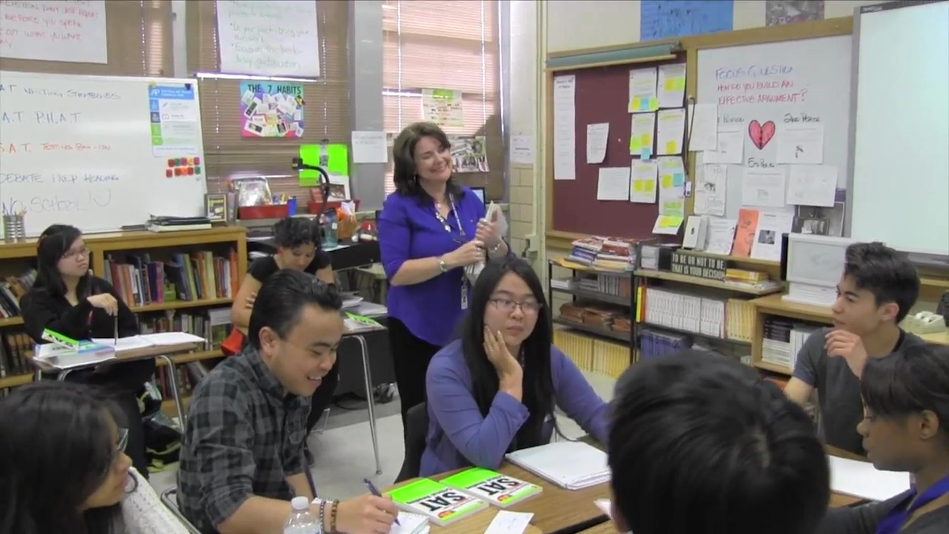 Teacher Of The Year Essays
