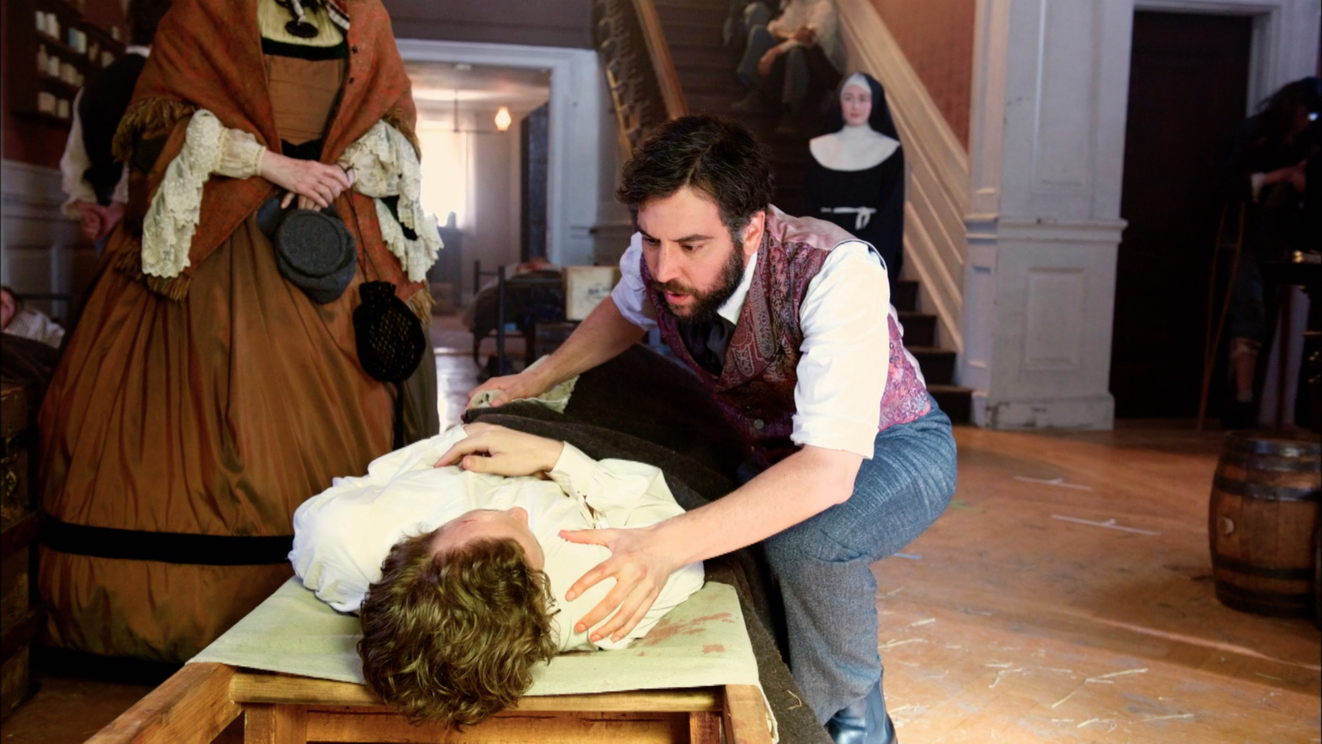 Josh Radnor stars in upcoming series Mercy Street. (Credit: PBS)