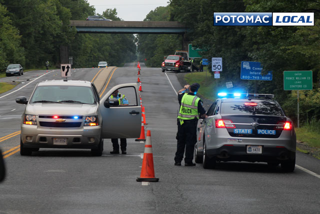 Motorcyclist killed in Route 1 crash outside Quantico