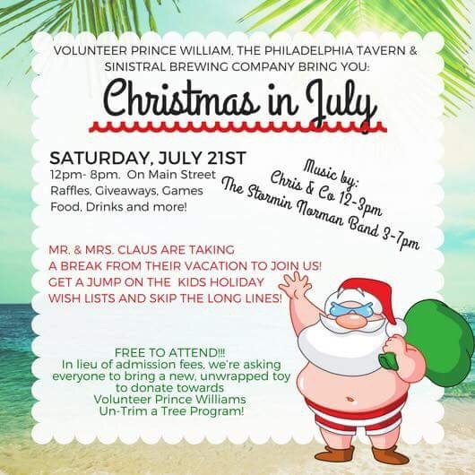 Christmas In July Free Image.Bring A New Unwrapped Toy For Free Admission To Christmas