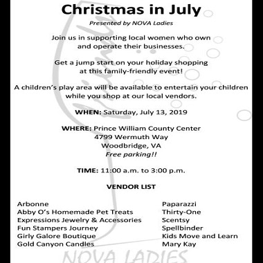 Christmas in July - Potomac Local