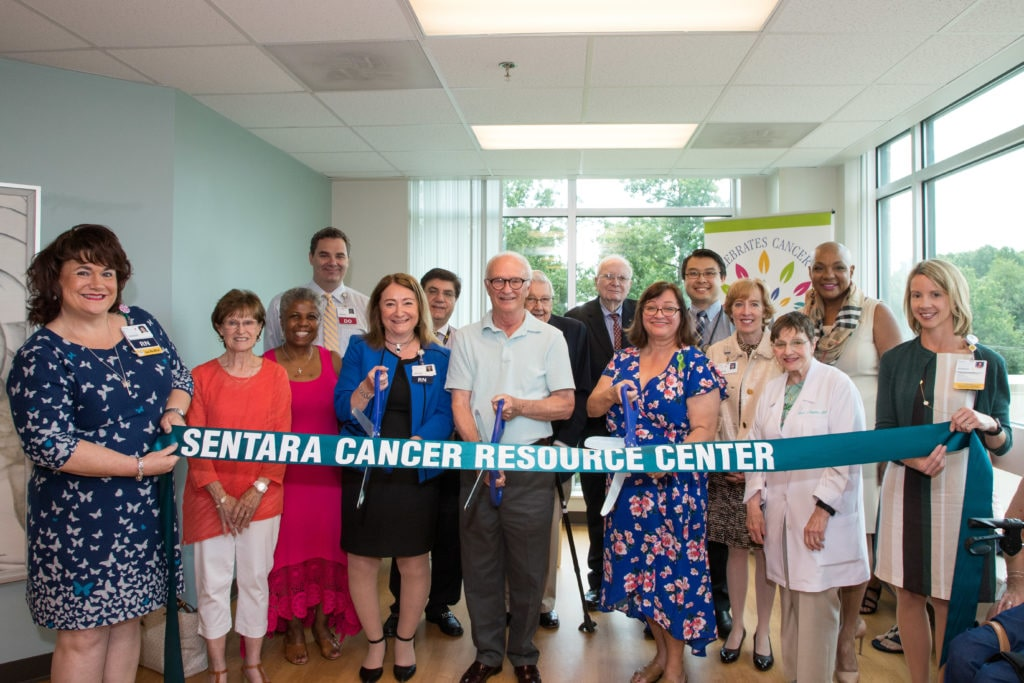 Sentara expands, opens cancer center in Woodbridge