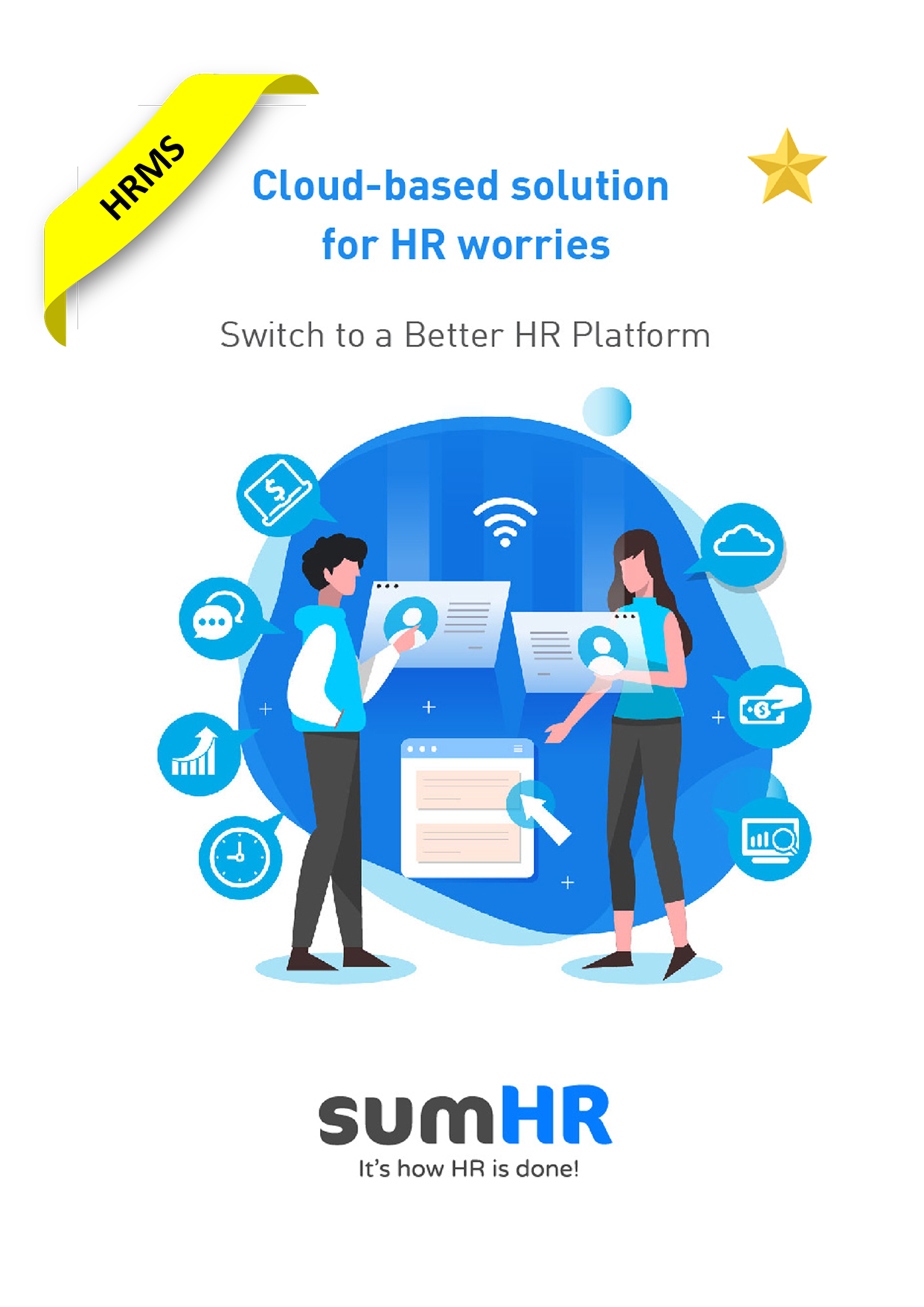 SumHR, Cloud-based solution for HR