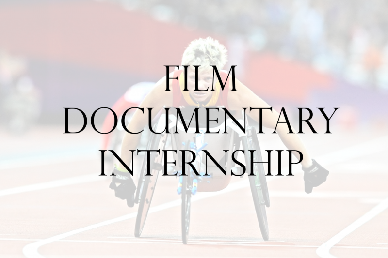 Film Documentary Internship [EXPIRED]