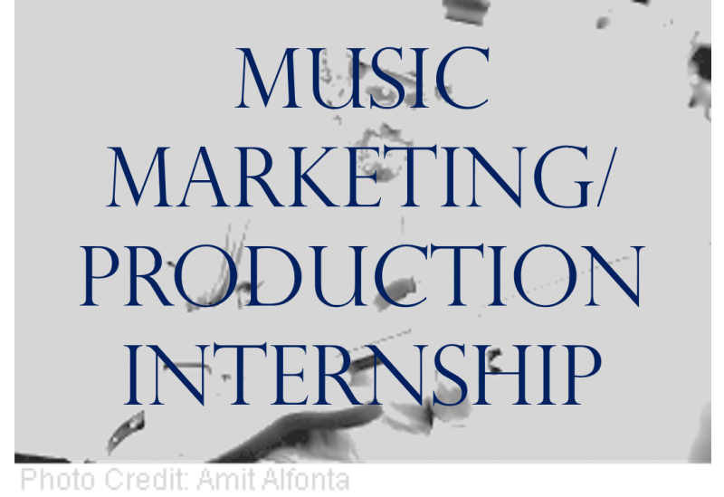 Music Marketing /Production Internship with Michael Goldwasser [EXPIRED]