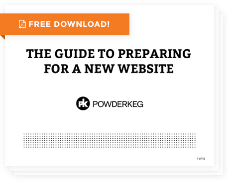 The Guide for Preparing for a New Website