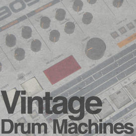 Vintage-drum-machines