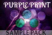 Purple-print