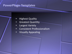 Powerpoint Template A Moving Purple Background With A Number Of