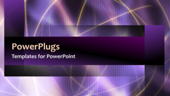 Powerpoint template a short video of an abstract purple colored powerpoint template print slide toneelgroepblik Image collections
