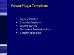 PPT Template - Text Slide