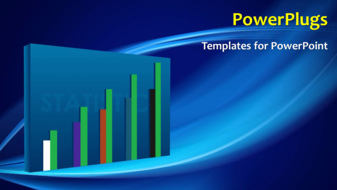 Powerpoint template a short video showing a bar chart and a text powerpoint template print slide toneelgroepblik Choice Image