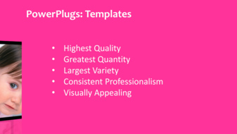 Powerpoint template a short video showing faces of cute little ppt template text slide toneelgroepblik Choice Image