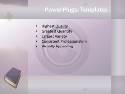 Powerpoint Template Animated Religious Background With Word Hope