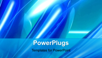 powerpoint template abstract animated background with light glow on