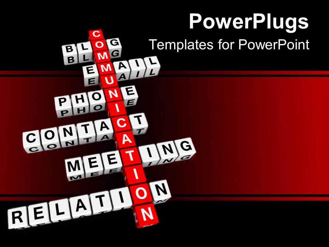 Intercultural Communication PowerPoint Templates w