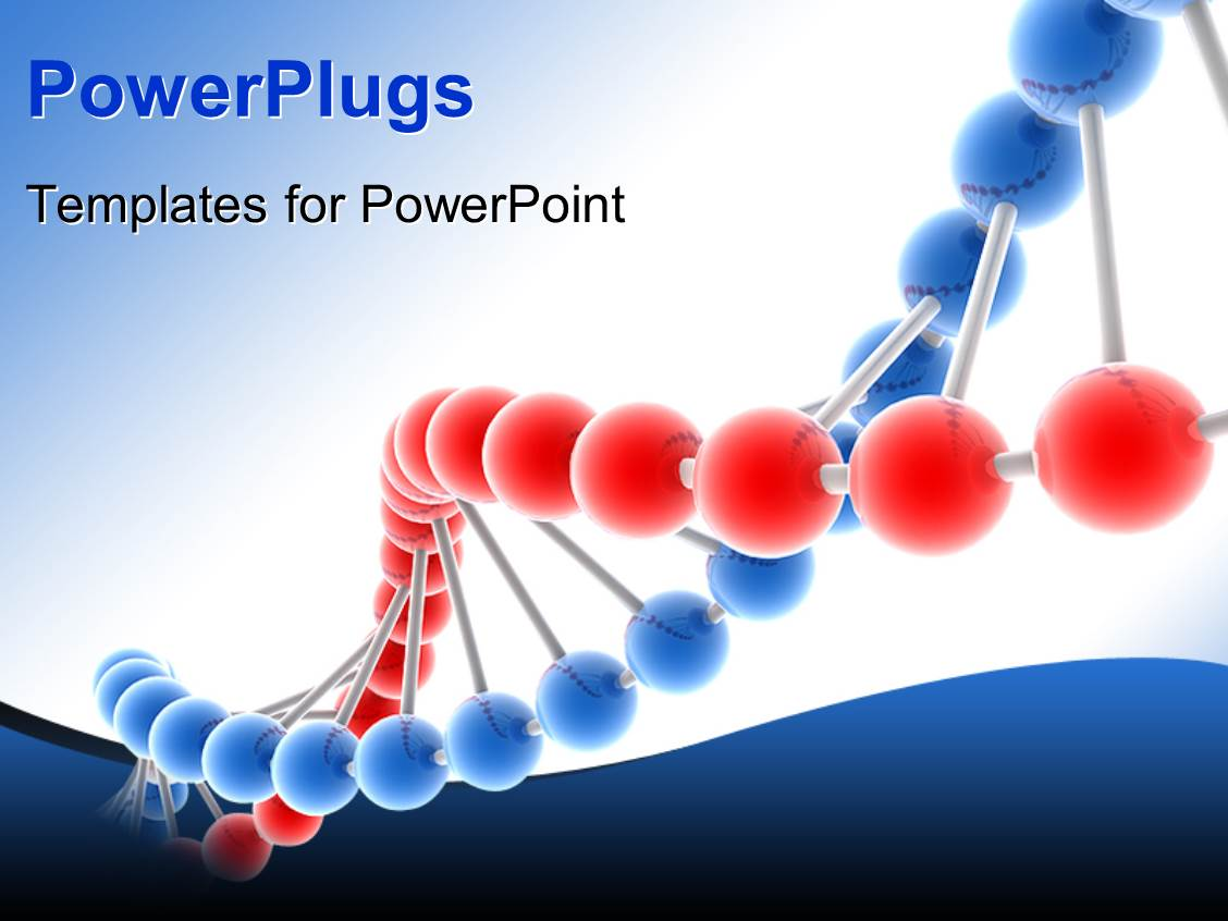dna powerpoint template free
