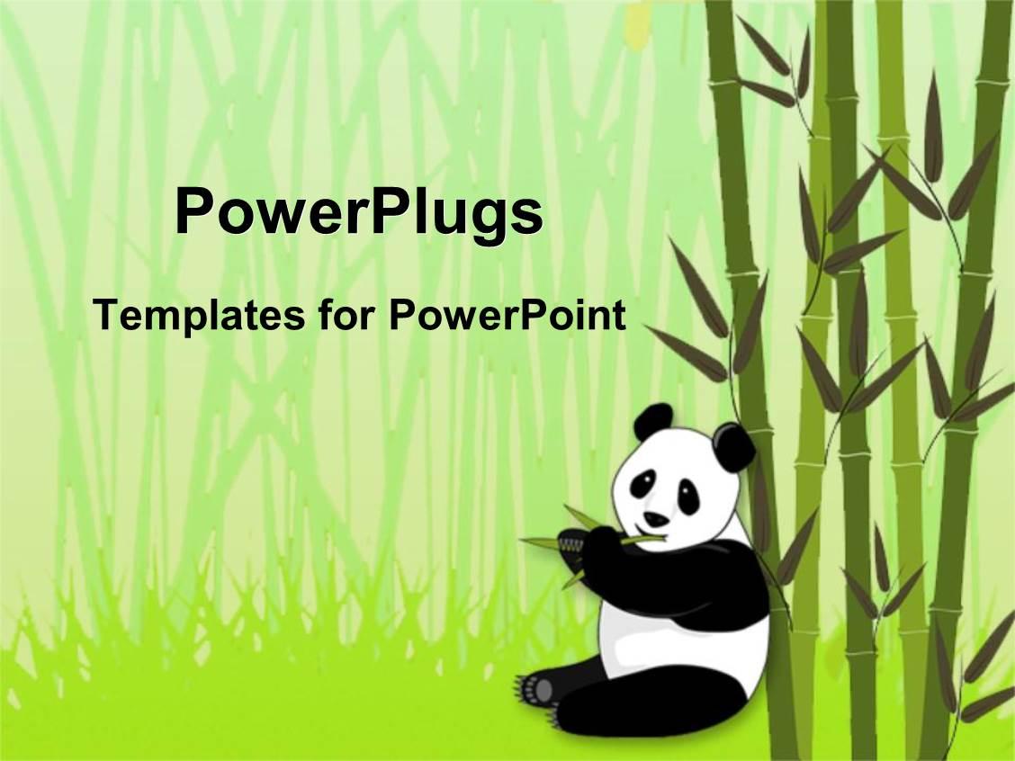 4000 Panda Powerpoint Templates W Panda Themed Backgrounds