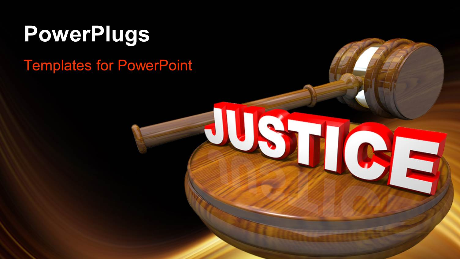 Top justice powerpoint templates backgrounds slides and ppt themes colorful slide deck having 3d wooden judges gavel and 3d white and red justice word atop template size toneelgroepblik Images