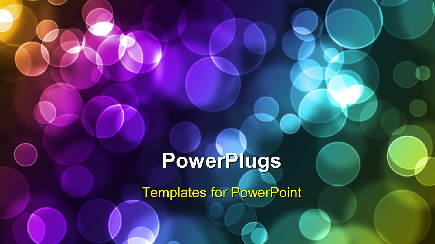 5000 art portfolio powerpoint templates w art portfolio themed ppt theme with abstract glowing colorful circles on a dark background toneelgroepblik Images