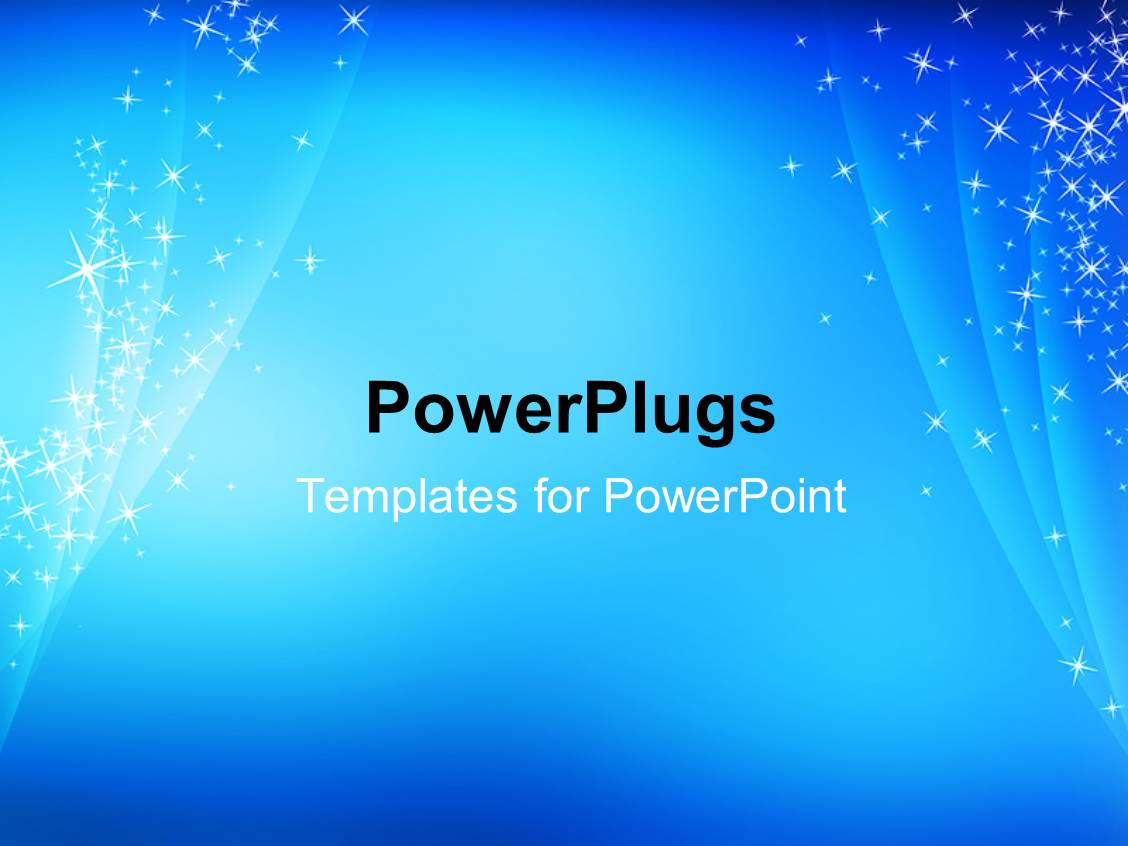 Powerpoint template abstract simple cool blue sparkling powerpoint template displaying abstract simple cool blue sparkling background alramifo Images
