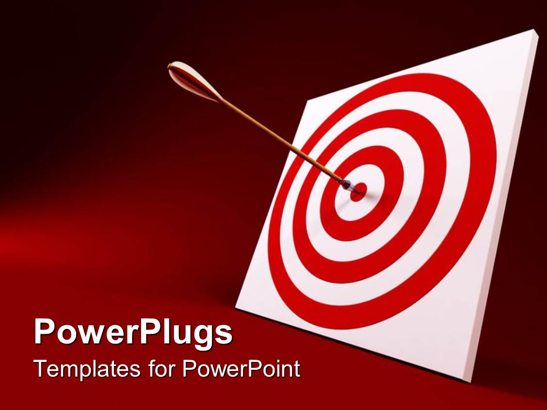 5000 target powerpoint templates w target themed backgrounds