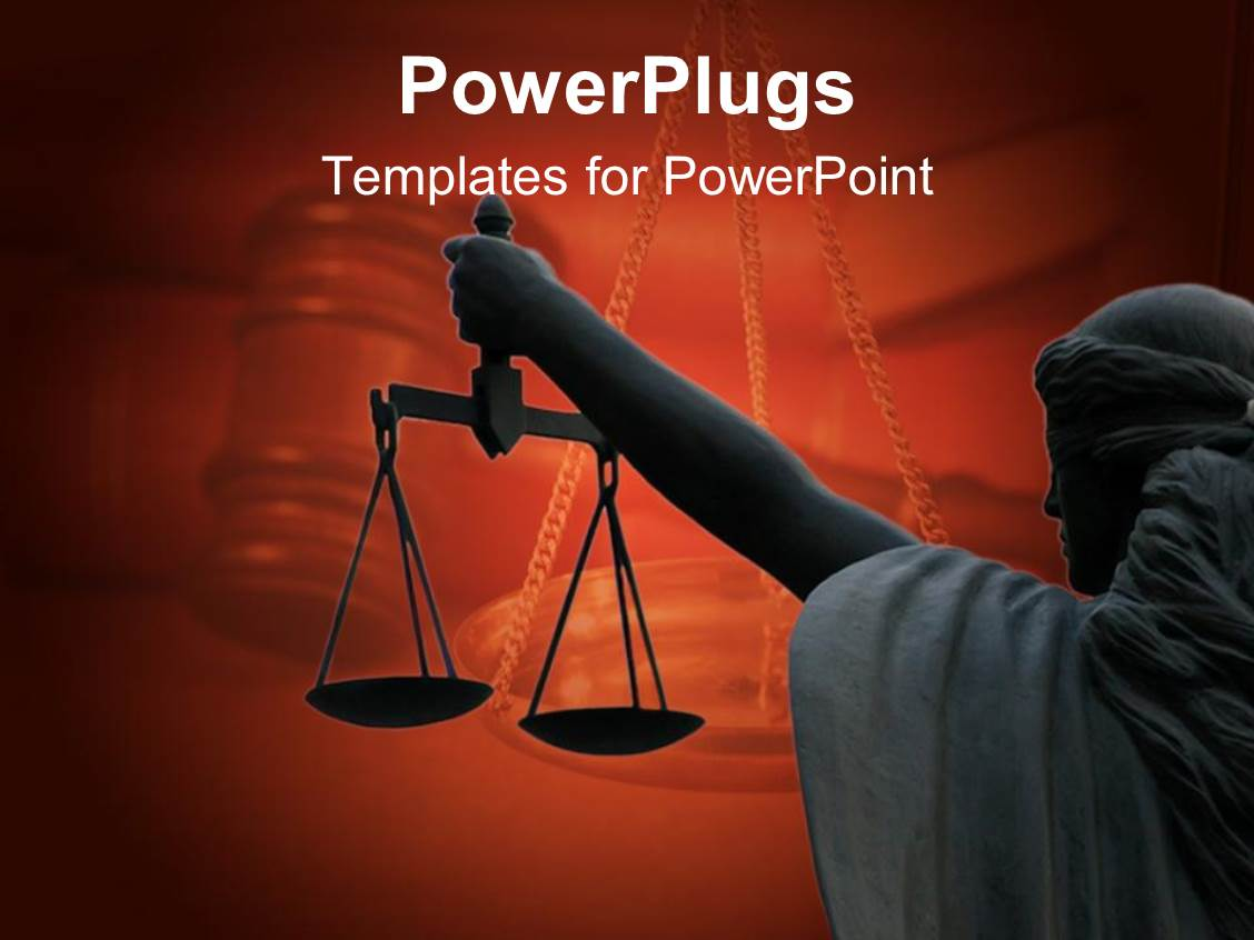 Top justice powerpoint templates backgrounds slides and ppt themes audience pleasing slide set featuring a balance showing the law and justice on maroon background toneelgroepblik Images