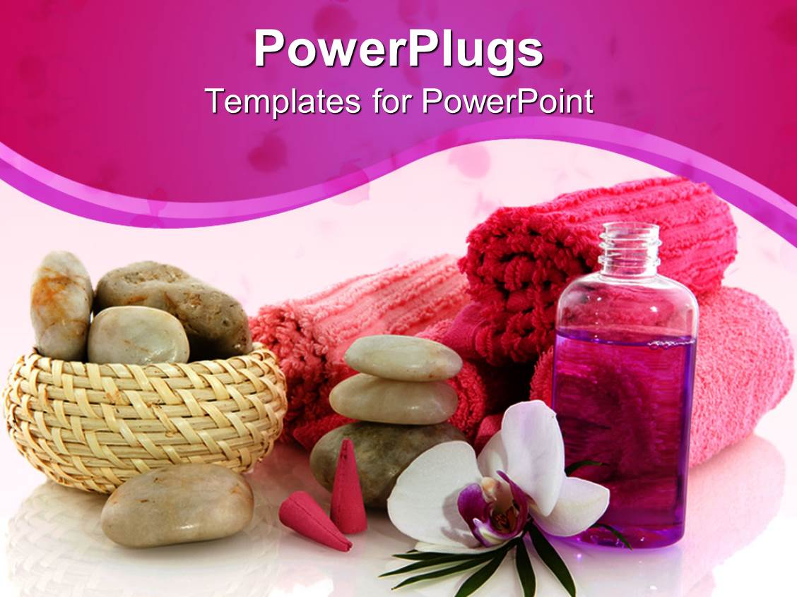 Wellness powerpoint templates ppt themes with wellness backgrounds beautiful ppt theme with basket with stones orchid towels liquid incense toneelgroepblik Choice Image