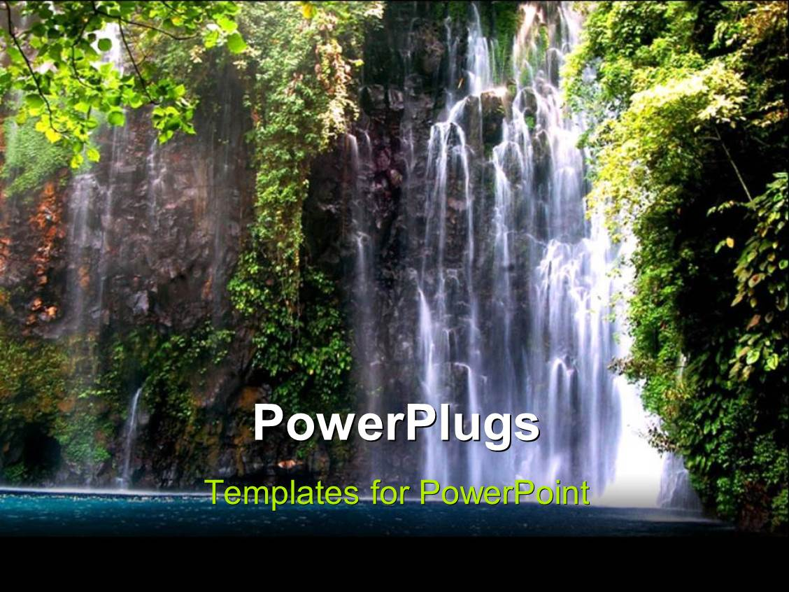5000 jungle powerpoint templates w jungle themed backgrounds amazing presentation theme consisting of beautiful scenery of waterfall in the philippines toneelgroepblik