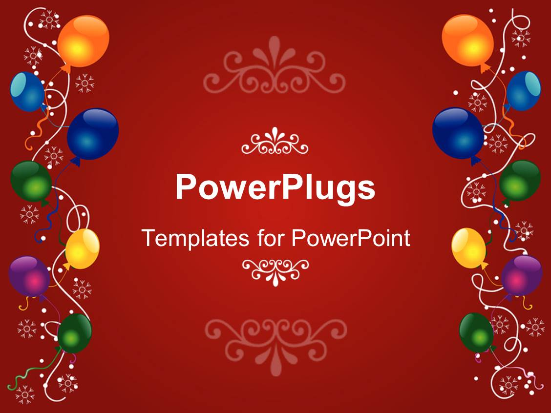 3000 certificate border powerpoint templates w certificate border ppt theme enhanced with a birthday celebration with reddish background template size toneelgroepblik Images