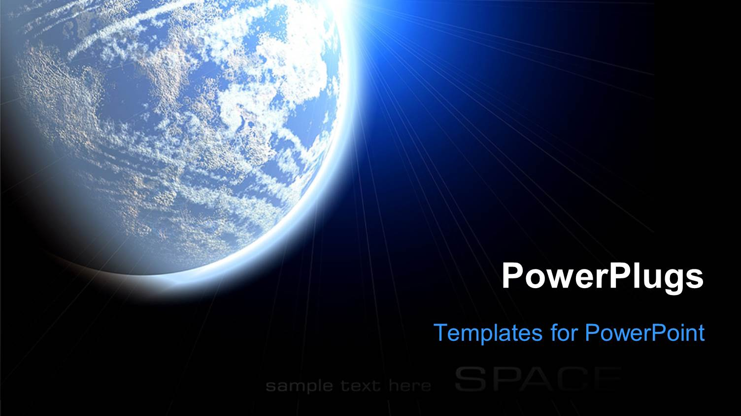 5000 alien powerpoint templates w alien themed backgrounds beautiful theme with the view of earth from the space template size toneelgroepblik Gallery