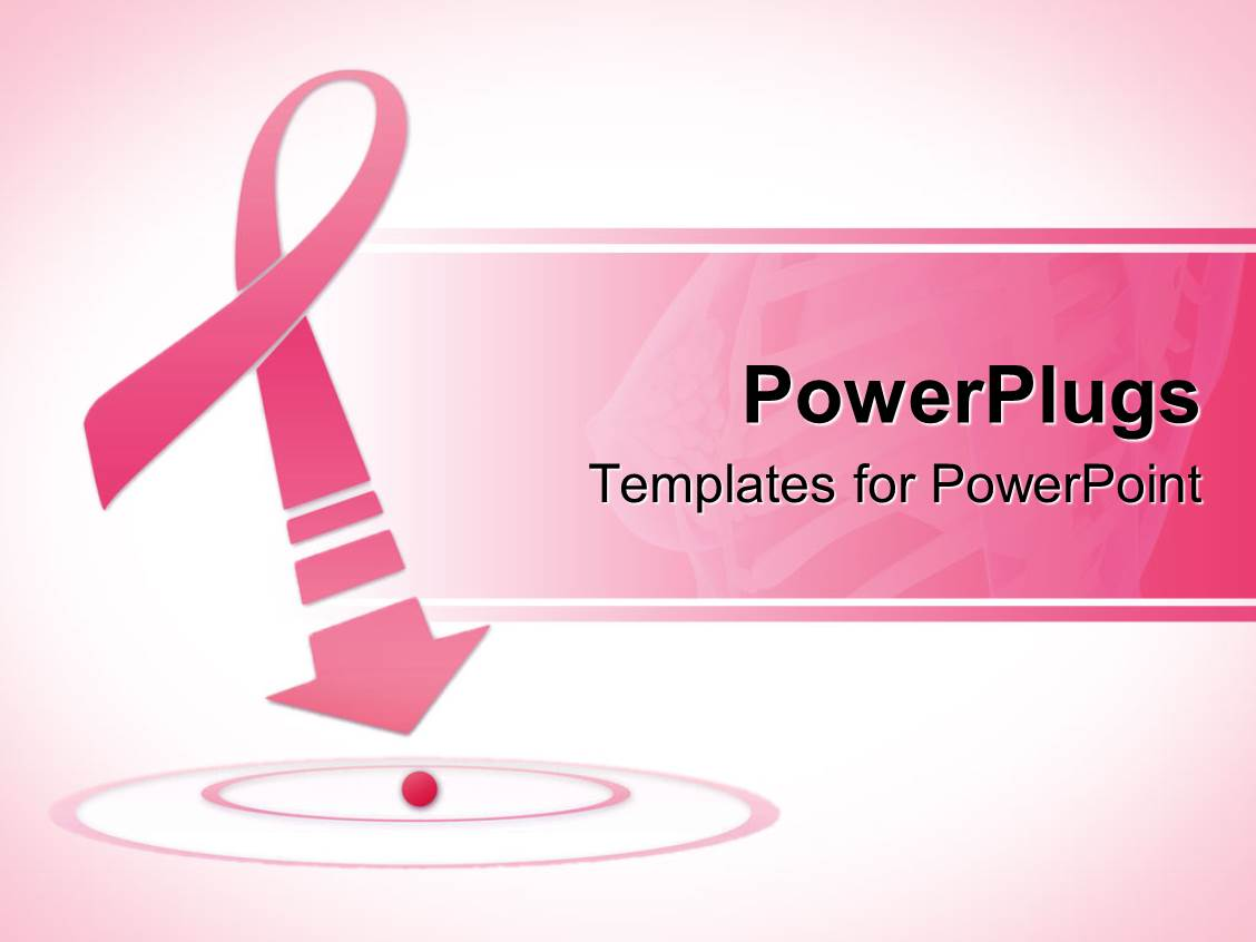 Breast Cancer PowerPoint Templates w/ Breast Cancer-Themed Backgrounds With Free Breast Cancer Powerpoint Templates