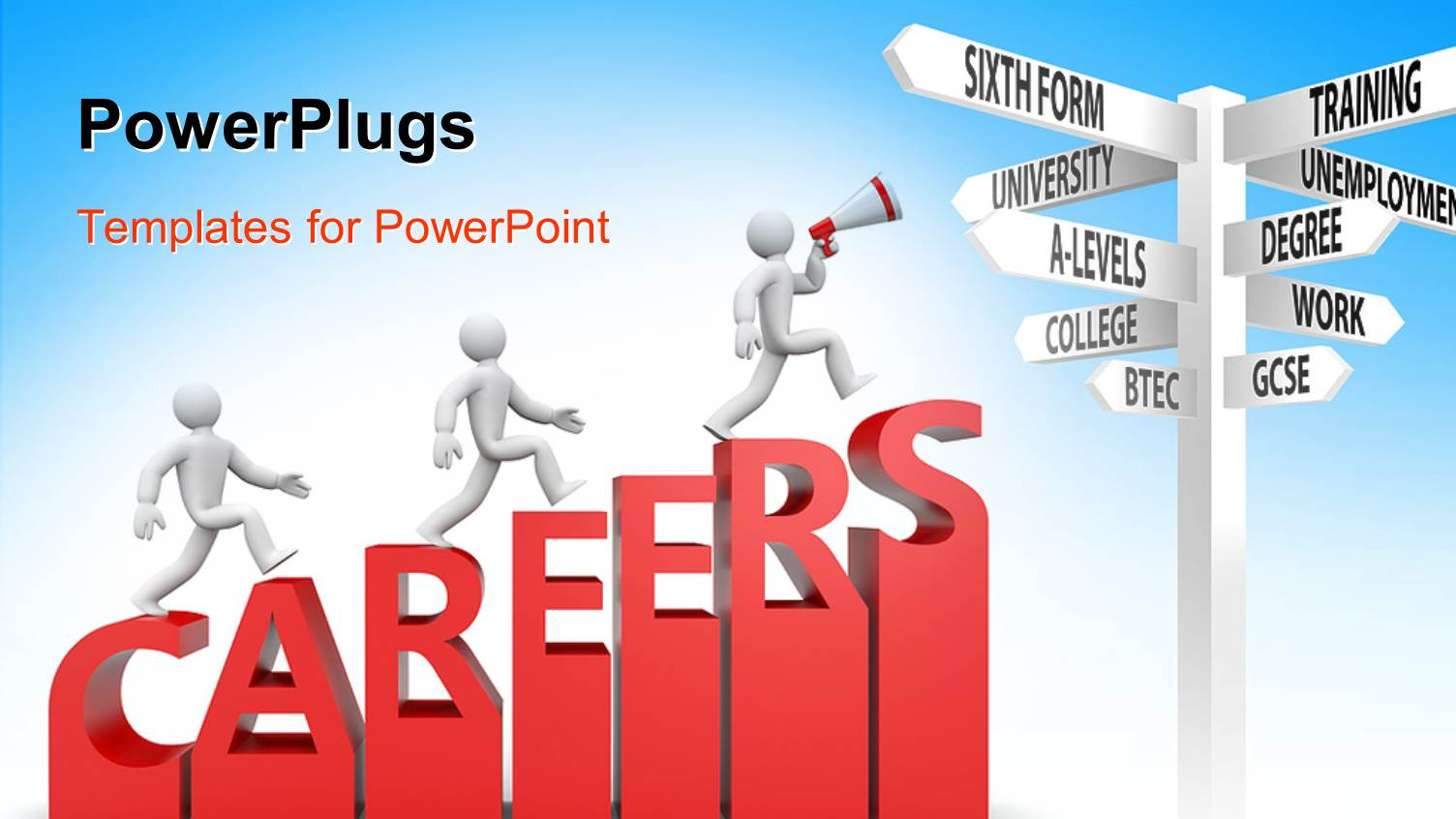 5000 career path powerpoint templates w career path themed backgrounds