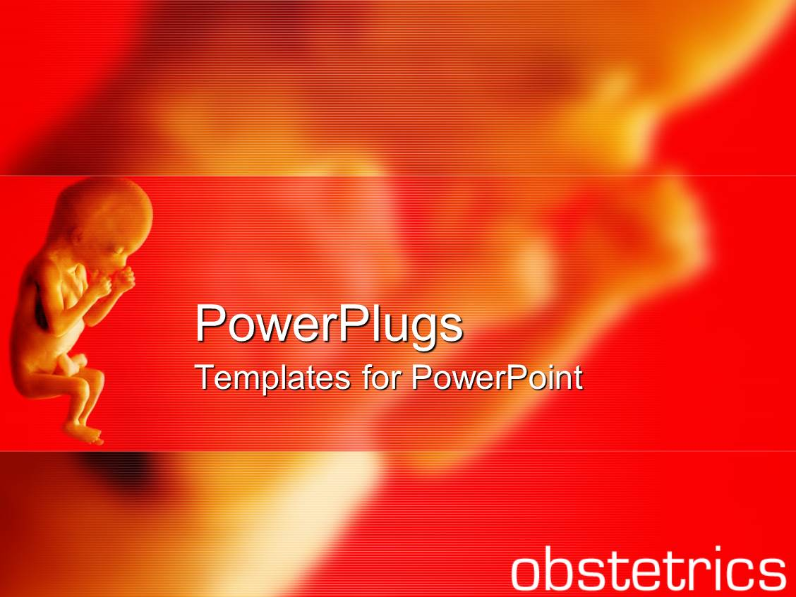1000 obstetrics powerpoint templates w obstetrics themed backgrounds elegant theme enhanced with close up of fetus and fading fetus on the red background with template size toneelgroepblik Gallery