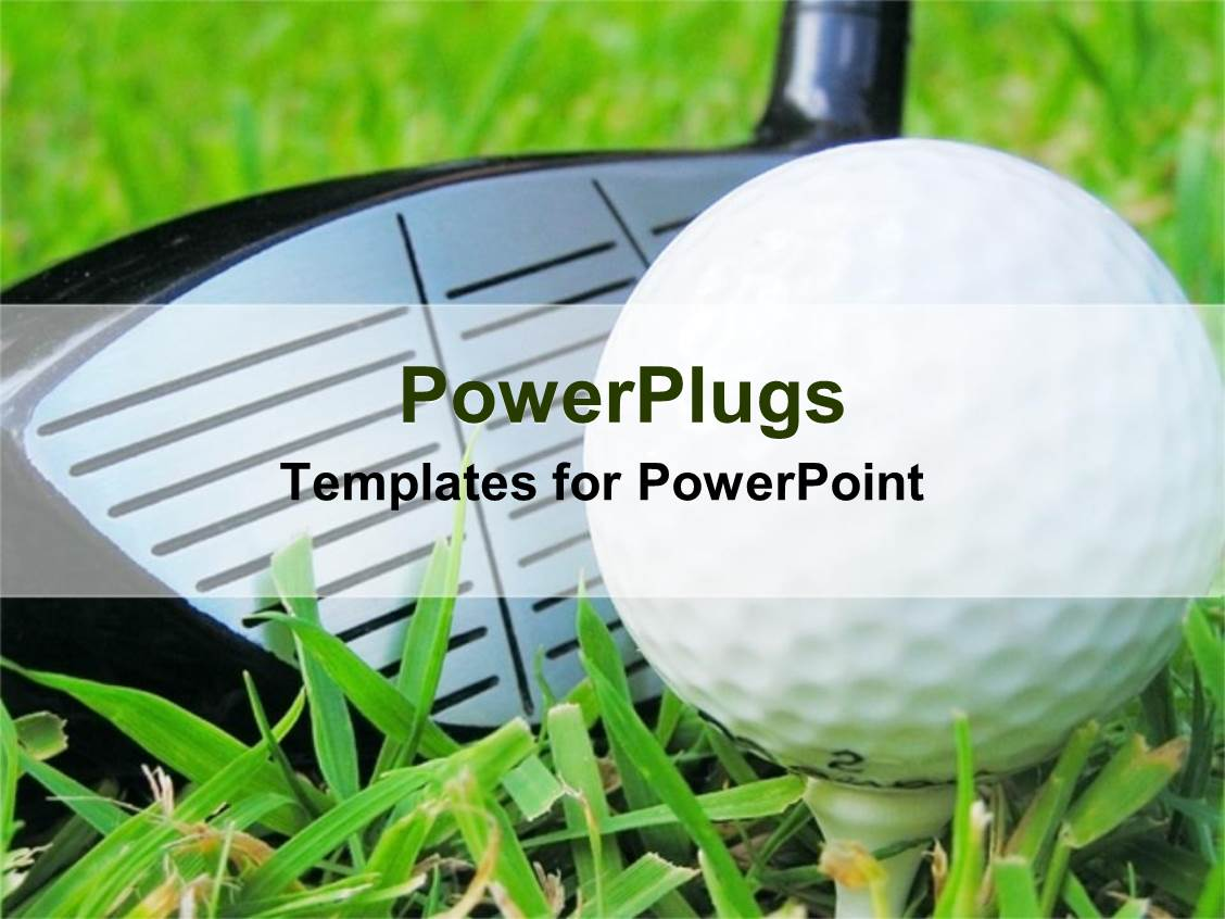 Powerpoint template close up golf club and tee 14345 powerpoint template displaying close up golf club and tee toneelgroepblik Image collections