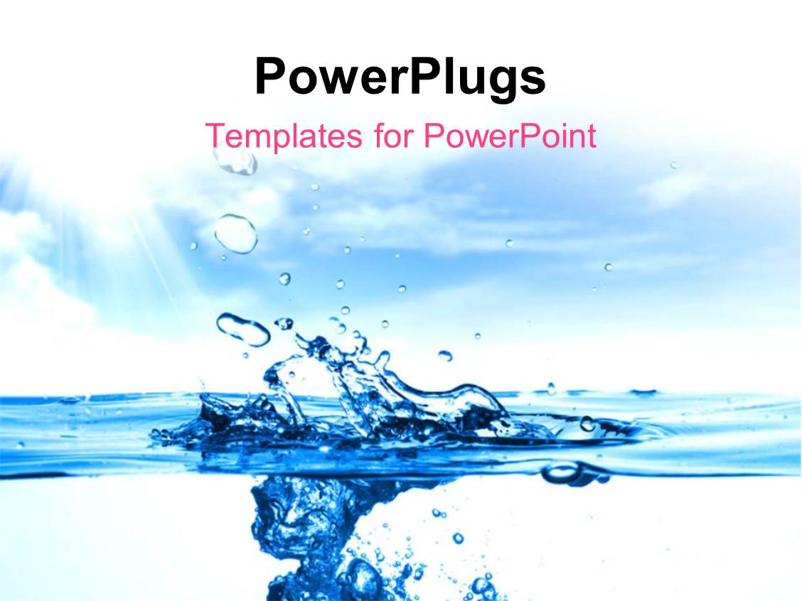 5000 water powerpoint templates w water themed backgrounds presentation theme featuring close up shot of a water drops toneelgroepblik Images
