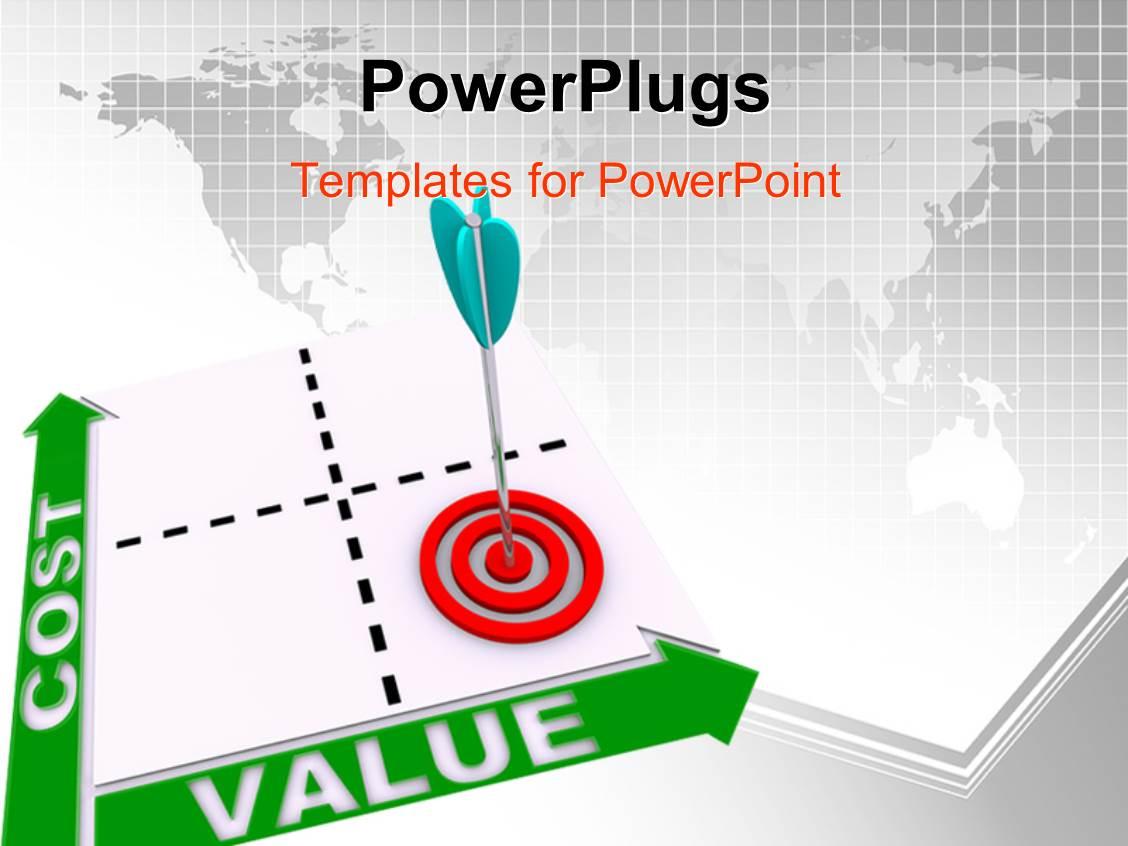 5000 matrix powerpoint templates w matrix themed backgrounds ppt theme with dart hitting bulls eye on cost value matrix template size toneelgroepblik Image collections